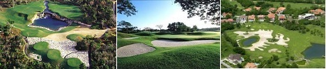 Santo Domingo golf courses