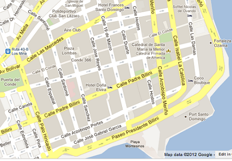 Santo Domingo Maps Santo Domingo Tourism