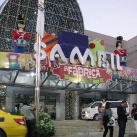 Shopping at Sambil Mall in Santo Domingo